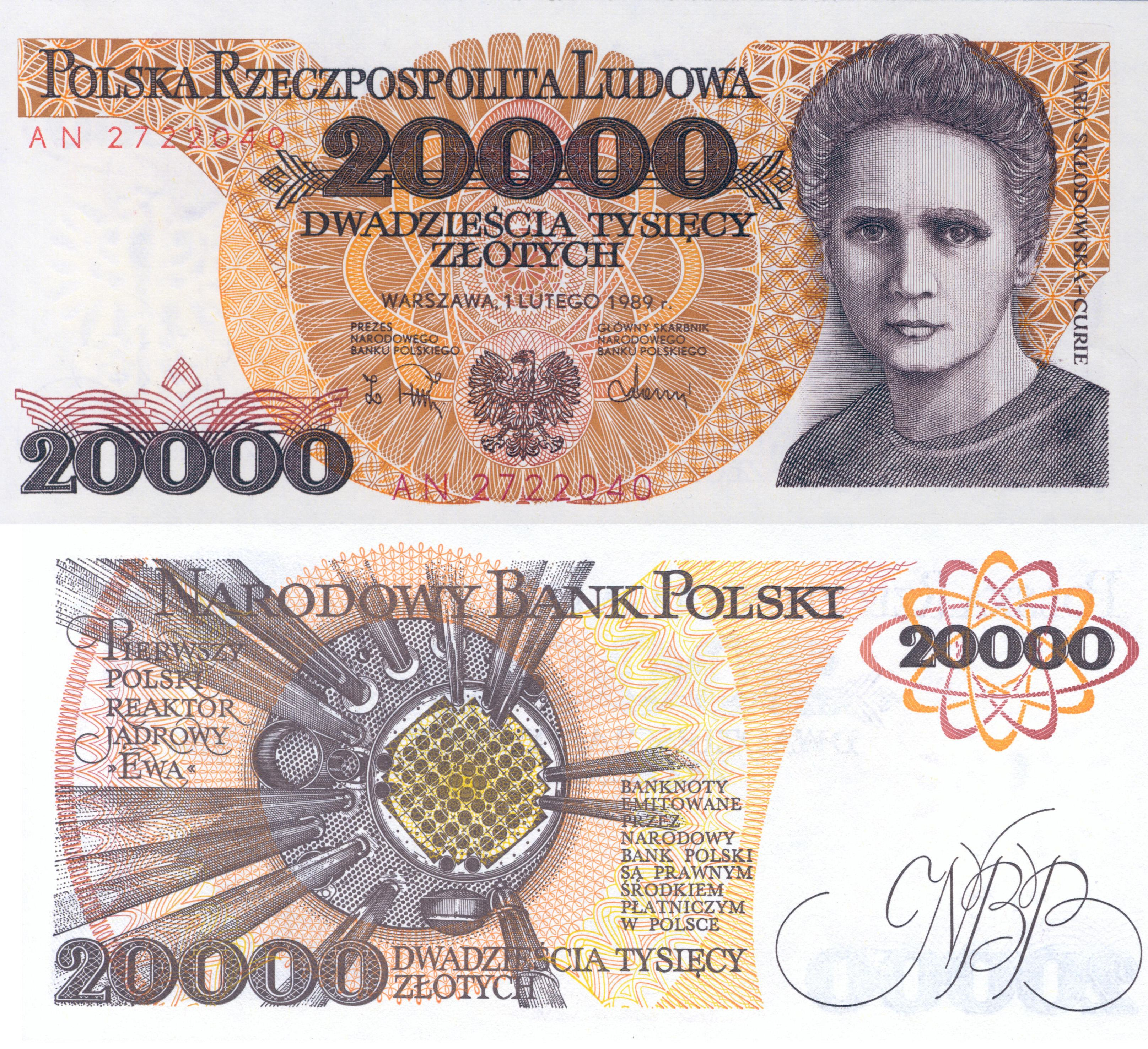 curie_Billete_Polonia_BR